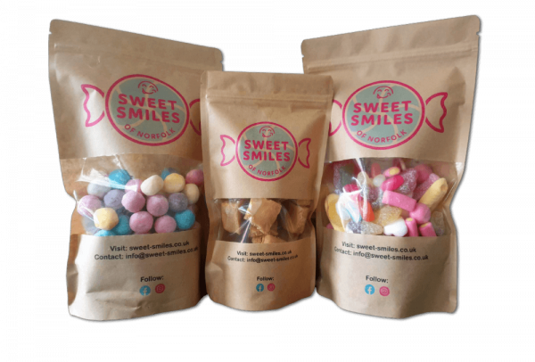 bags of sweet smiles sweets