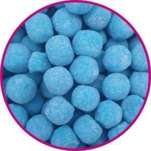 close up of blue raspberry bonbons