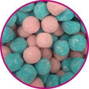 close up of bubblegum bonbons