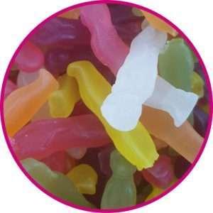 close up of meerkat sweets
